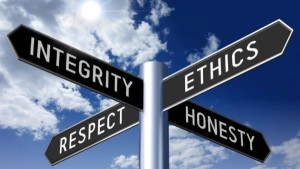 ethics signs