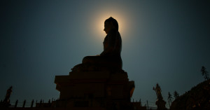 Buddha Moon Image