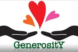 generosity image